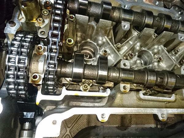 ポルシェ996 エンジン警告灯が点灯