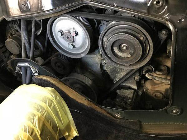 ポルシェ ボクスター 986 オーバーヒート 故障 修理