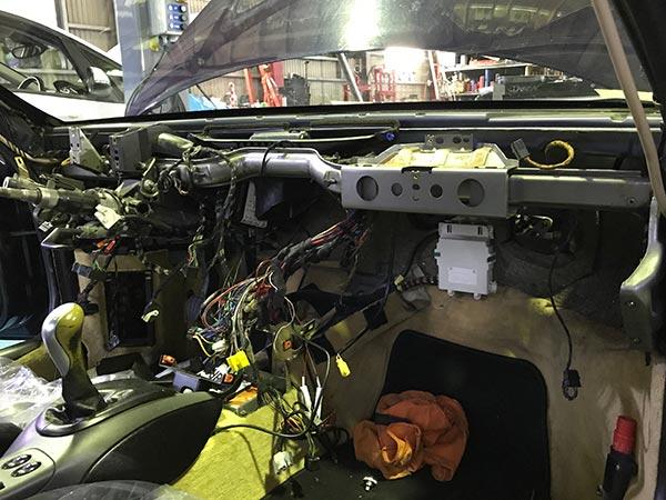 ポルシェ 996 エアコン故障修理