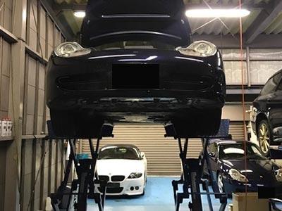 ポルシェ 911/996 カレラ 車検整備