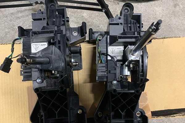 ポルシェ 997ターボ セレクターレバー交換作業