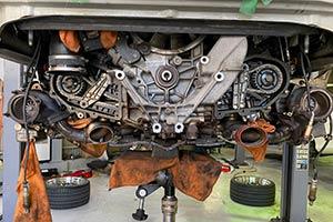 993 オイル漏れ修理